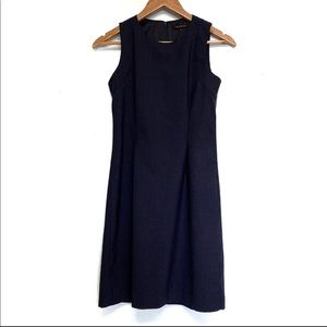 Theory Navy Blue Sleeveless Dress